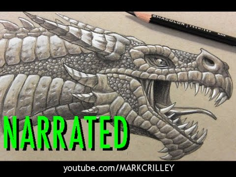 how-to-draw-a-dragon's-head:-shading-&-details