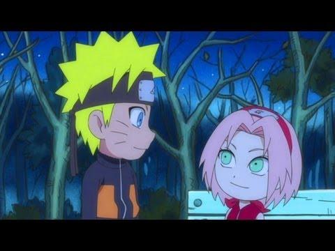 Naruto SD: Funny Naruto & Sakura AMV - Bubble Pop