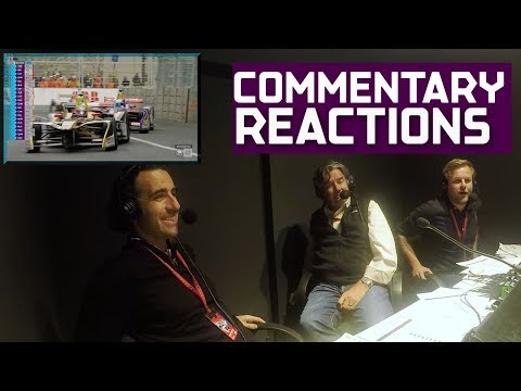 Commentators React To Formula E Race! | 2018 Qatar Airways Paris E-Prix
