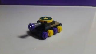 Как сделать мини танк из Lego, самоделка.(В этом видео я расскажу как сделать самоделку из lego Мини танк. Спасибо за лайк и подписку!, 2016-01-27T05:58:54.000Z)