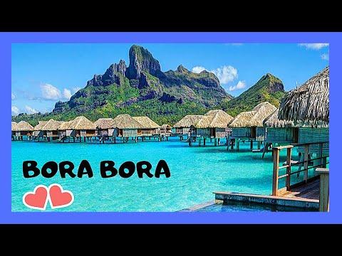 BORA BORA - Waves, beautiful sea water and fantastic views (French Polynesia, Pacific Ocean)