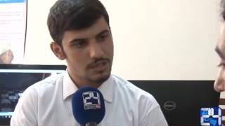 Aftab Mohmand report for 24 News Engineering student in Peshawar showd their skills
