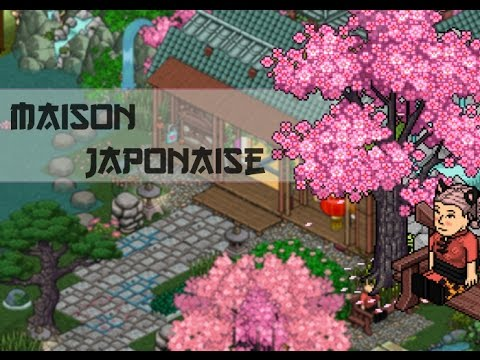 habbo maison japonaise 6 youtube. Black Bedroom Furniture Sets. Home Design Ideas