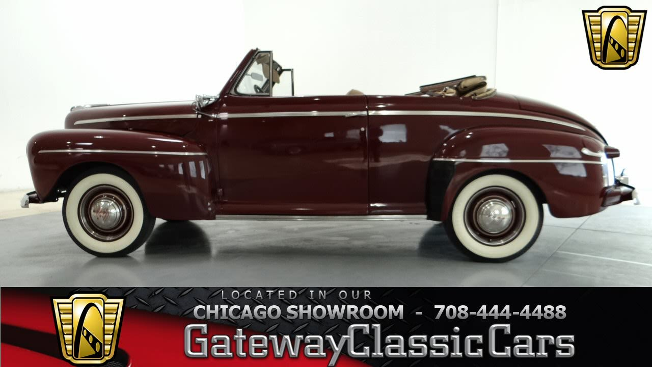 1946 ford super deluxe convertible gateway classic cars. Black Bedroom Furniture Sets. Home Design Ideas