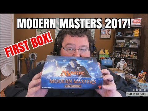 Modern Masters 2017! FIRST BOX!