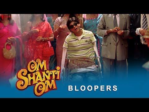 Om Shanti Om   Bloopers   Shah Rukh Khan, Deepika Padukone, Sanjay Dutt & Salman Khan