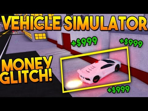 *NEW* MONEY GLITCH ($3,000,000+)   Vehicle Simulator ROBLOX