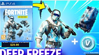 How To Get NEW *DEEP FREEZE BUNDLE* ON FORTNITE *DISC*