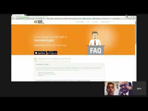 """Dermatology Telemedicine Platform """"Dermcheck App"""" with Ben Benham MD"""