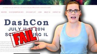 DashCon FAIL - Tumblr Convention