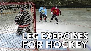 London Ontario Hockey Training: Leg Exercises For Hockey
