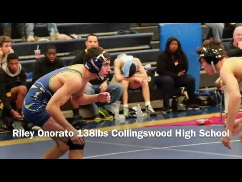 Riley Onorato 138lbs Collingswood High School | Class of 2018