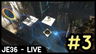 Twitch Livestream Re-upload: Portal 2 Co-Op Mode (w/Liam) | Part 3