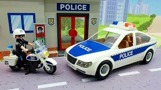 Видео для детей с игрушками - Свинка Пеппа Щенячий Патруль Плеймобил. Мультики про машинки.