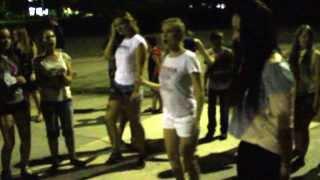 Атмосфера на дискотеке в лагере