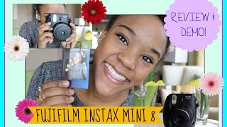FujiFilm INSTAX MINI 8: Review and Demo!