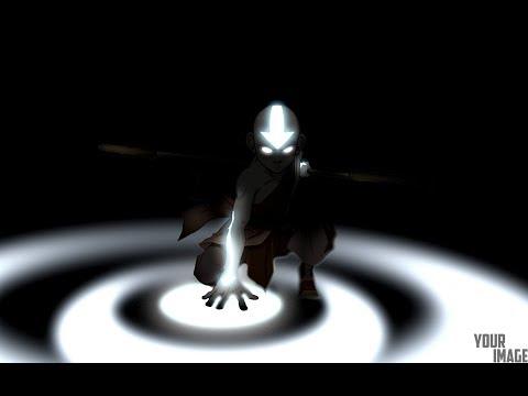 Avatar Aang - Photoshop Speed Art Video
