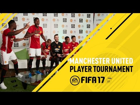 FIFA 17 - Manchester United F.C. Player Tournament - ft . Pogba, De Gea, Rooney, Martial