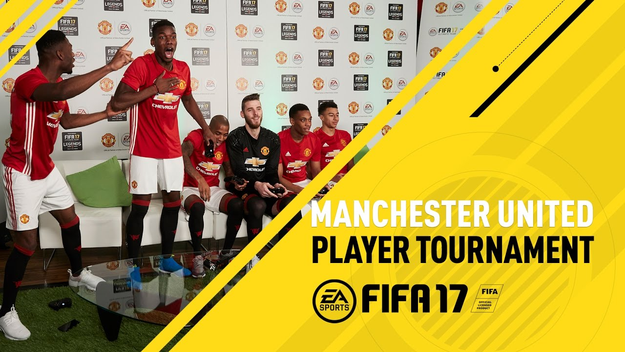 Fifa 17 Manchester United F C Player Tournament Ft Pogba De Gea Rooney Martial Youtube