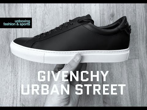 Givenchy Paris URBAN STREET 'Black' | UNBOXING & ON FEET | luxury shoes | 2018 | 4K