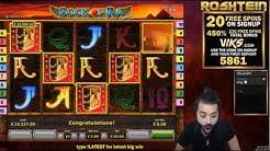 Book of Ra Deluxe kaszinó játék nagy összegű nyereménye