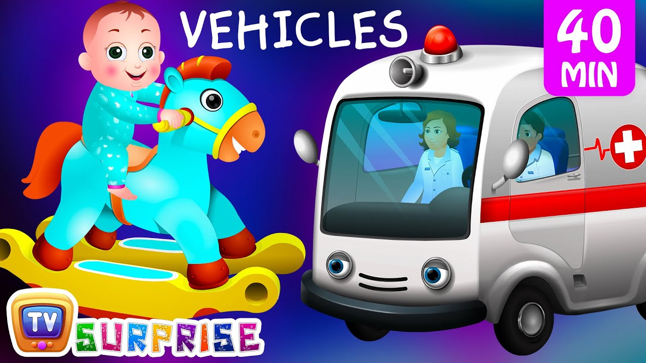 Surprise Eggs Street Vehicles For Kids | Baby, Public Transport ...