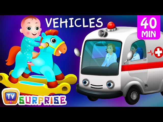 Surprise Eggs Street Vehicles For Kids Baby Public