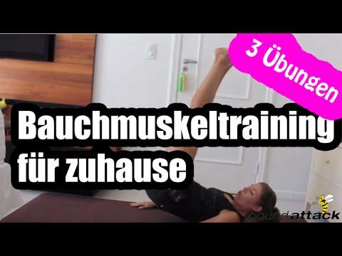 Bauchmuskeltraining: 3 Übungen - Untere Bauchmuskeln | Poundattack ...