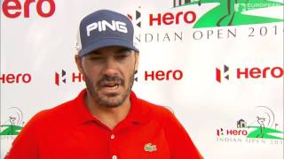 Hero Indian Open (T4) : La réaction de Grégory Havret