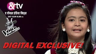 Shekinah Mukhiya Sings Christmas Jingle With Coaches | The Voice India Kids - Season 2