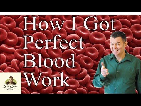 How I Got Perfect Blood Work