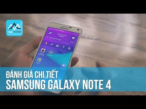 Đánh giá Samsung Note 4