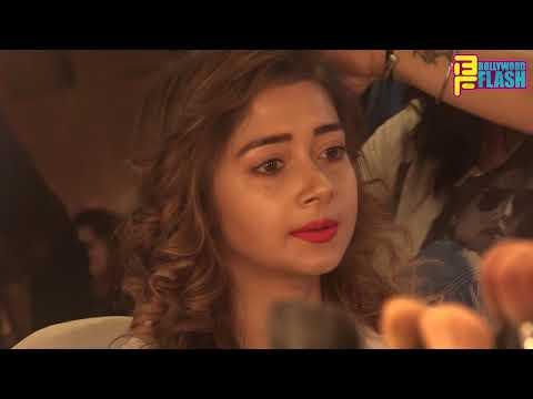 Tina Dutta BEST Make Up Session - Behind The Scene