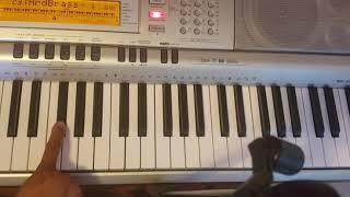 Cantare al Señor por siempre trompeta en piano.Juan Carlos A.cantare al Señor por siempre tutorial