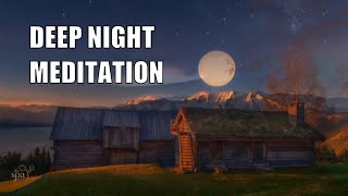 Night   Relaxing Music Meditation Music Nature Whispers Sleep Instrumental Music Massage Spa  Music