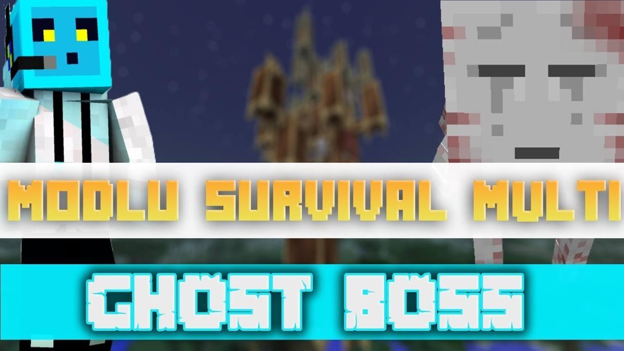 Sezon 4 Minecraft Modlu Survival Multi Bölüm 11 - Ghost Boss