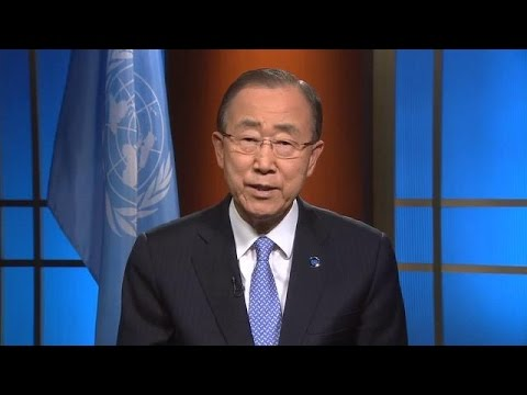 Ban Ki-moon (UN Secretary-General) on Rio 2016 Olympic Games and the Olympic Truce