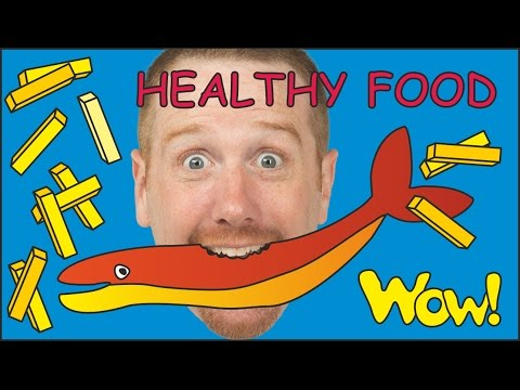 Healthy Food for Steve and Maggie | Magic English Stories for Kids | Cartoon Story Wow English TV