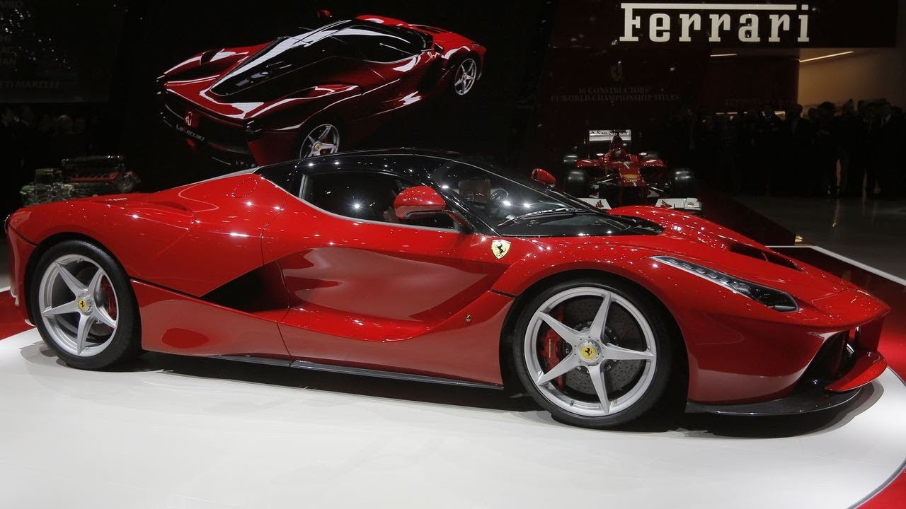 New La Ferrari Hybrid Sports Car Geneva Motor Show YouTube - Ferrari car show