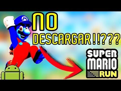 ★10 RAZONES PARA NO DESCARGAR SUPER MARIO RUN★ •ANDROID• | VICTOR HD TUTOS
