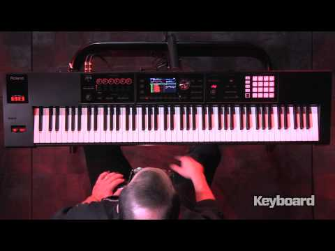 Roland FA-08 Workstation First Look 1 of 2