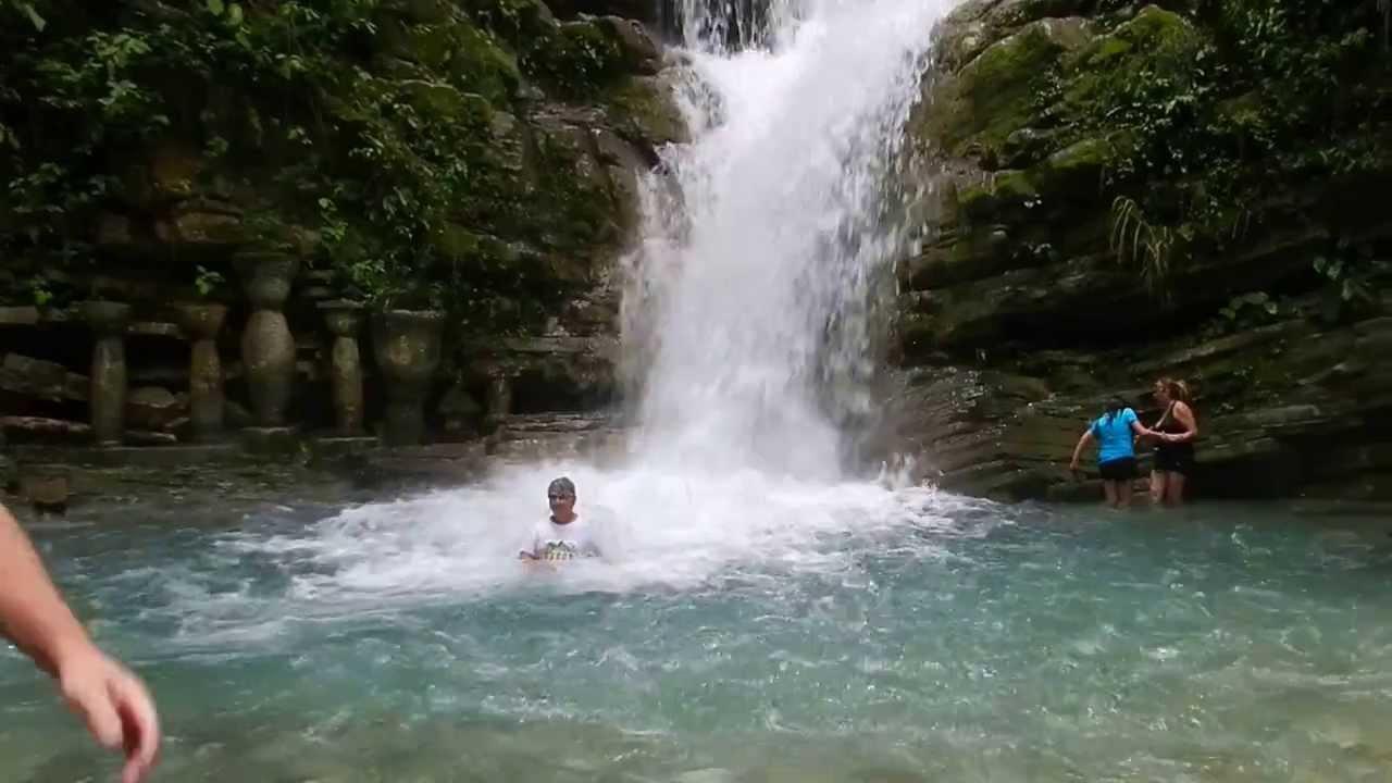 Cascada en las pozas de xilitla s l p youtube for Cascadas de jardin