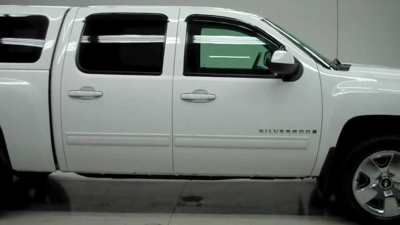 Chevy Silverado Camper Shell >> J4920B 2009 Chevrolet Silverado 1500 CREW-SHORT-LTZ-4WD-CAP-NAV-1 OWNER www.LENZAUTO.com $29,497 ...