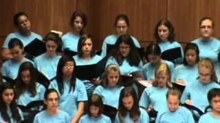 SrSYM Op. 4 All Campus Choir July 19, 2012.
