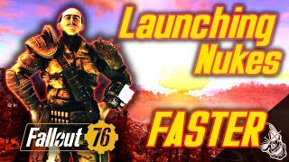 FASTEST Way To Launch A NUKE In Fallout 76 (NO GLITCHES)