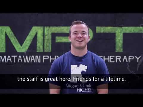 College Football Athlete's Testimonial at Matawan Physical Therapy