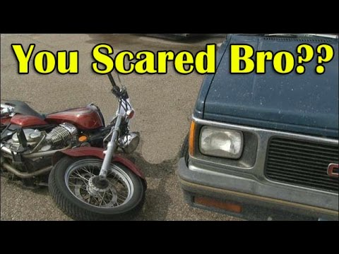 PUSSIES FEAR Motorcycles - Scare Tactics - Build a Strong Mind