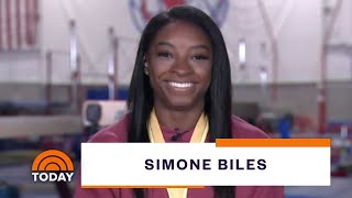 Simone Biles In 'Awe' After Making Gymnastics History At World Championships | TODAY