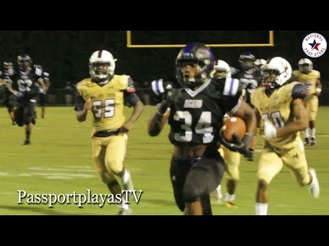Zamir White #1 RB in America || 311 yards on ONLY 12 touches!!! Scotland vs Mallard Creek