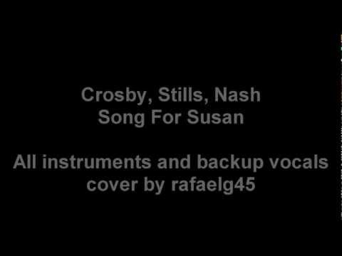 CSN cover - Song For Susan (Karaoke/backing track)
